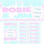 Baby Blue & Baby Pink Birthday Package