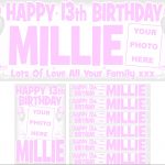 Baby Pink & Silver Birthday Package