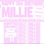 Baby Pink & White Birthday Package