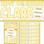 Gold & Ivory Birthday Package