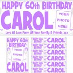 Lilac & Silver Birthday Package