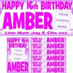 Pink (Dark) & Lilac Birthday Package