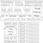 Silver & White Birthday Package